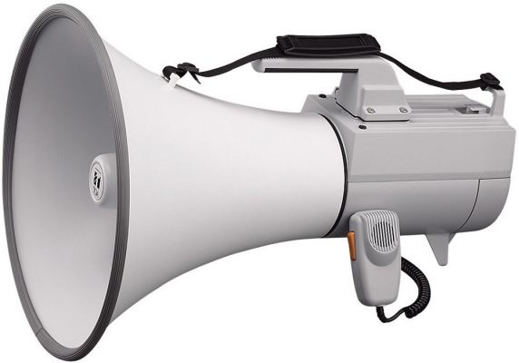 ER-2230W.TOA Shoulder Type Megaphone with Whistle