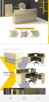 EX catalogue 2 EX Series Office Table -Wooden Leg Series