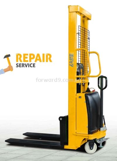 Semi Electric Stacker Maintenance & Repairing & Servicing