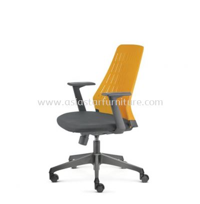 PICO PRESIDENTIAL MEDIUM BACK WITH NYLON BASE AND FIXED NYLON ARMREST ASPC 8612A-24A