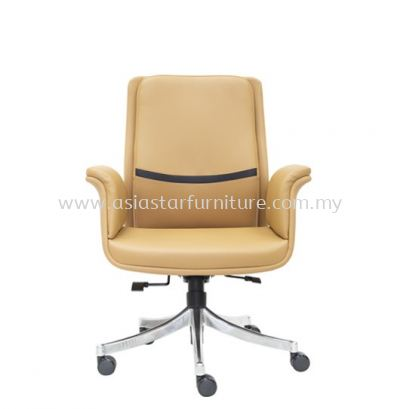 SWANSEA DIRECTOR LOW BACK CHAIR C/W ROCKET ALUMINIUM BASE