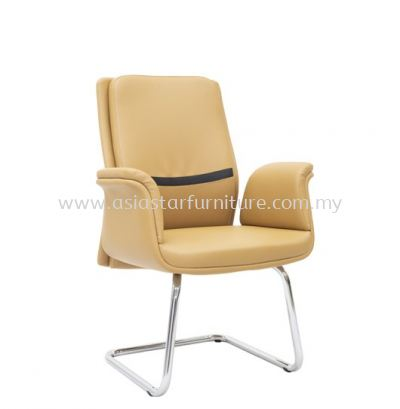 SWANSEA DIRECTOR VISITOR CHAIR C/W CHROME CANTILEVER BASE