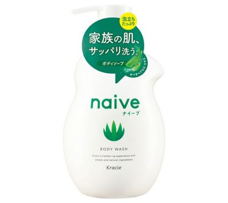 Naive Body Wash (Aloe Extract)-530ml