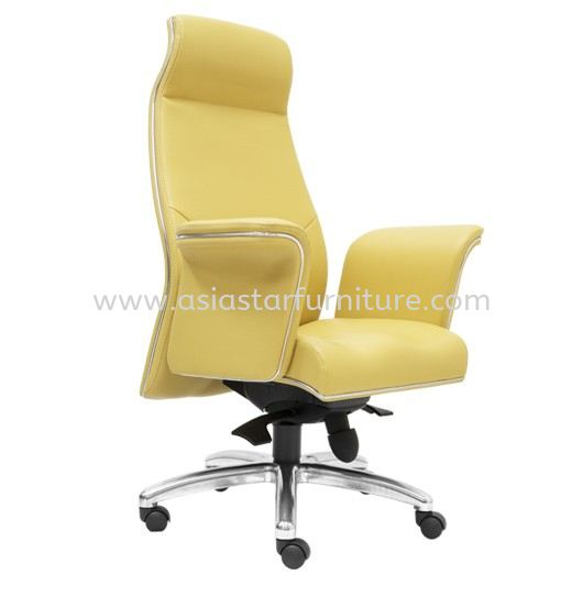 WIGAN DIRECTOR HIGH BACK CHAIR SIDE VIEW
