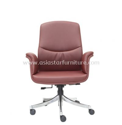 OXFORD DIRECTOR LOW BACK CHAIR C/W ROCKET ALUMINIUM BASE
