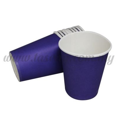 Paper Cup Plain Blue 10pcs (P-PC-PB2)