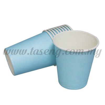 Paper Cup Plain Baby Blue 10pcs (P-PC-PBB2)