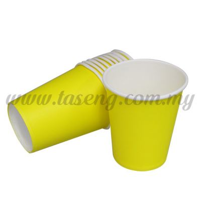 Paper Cup Plain Yellow 10pcs (P-PC-PY2)