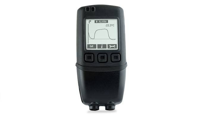 High Accuracy Dual Channel Thermistor Data Logger with Graphic Screen and Audible Alarm (EL-GFX-DTP+)
