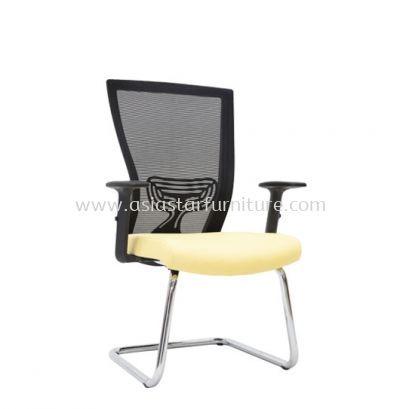 MALTON VISITOR MESH BACK CHAIR C/W CHROME CANTILEVER BASE