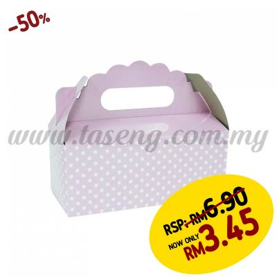 Cake Box -Baby Pink 1pack *6pcs (CB-BP)