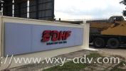 SENAR DHF SDN. BHD. Aluminium 3D LED Signboard Aluminium 3D Box Up Lettering