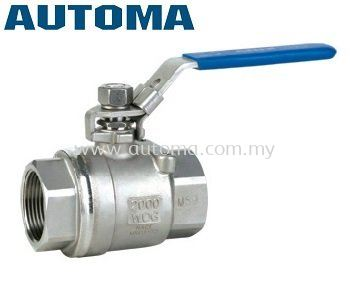 2-PIECE-BODY BALL VALVE SS316 BODY 2000PSI #AT202