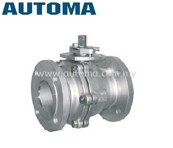 2-PIECE-BODY BALL VALVE ANSI300 WCB/CF8/CF8M #AT234/235/236