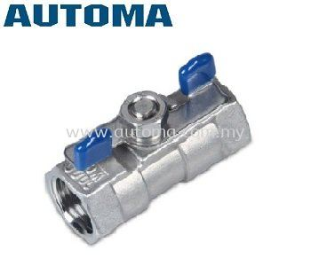 1-PIECE BODY BALL VALVE SS304 #AT100B