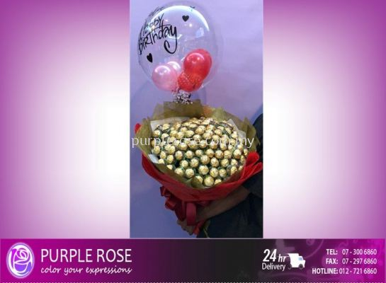 Balloon and Bouquet Set06(SGD150)