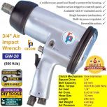 GISON 3/4″ Air Impact Wrench (500 ft.lb) GW-20