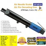 GISON Air Needle Scaler (3700 bpm, 3 mm x 19), Air Pin Derusting Gun GP-851A