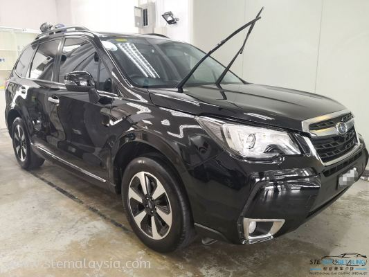 Let's take a close look with Subaru Froster , after Detailing By STE Auto Detailing