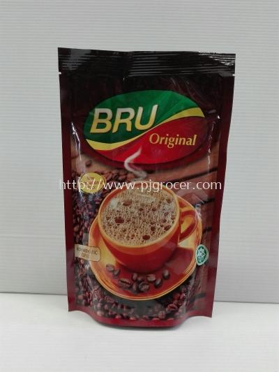 Bru Original Coffee Pouch 200gm
