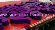 Signage Bos Up 3D We Do We Supply  3D BOX UP LETTERING