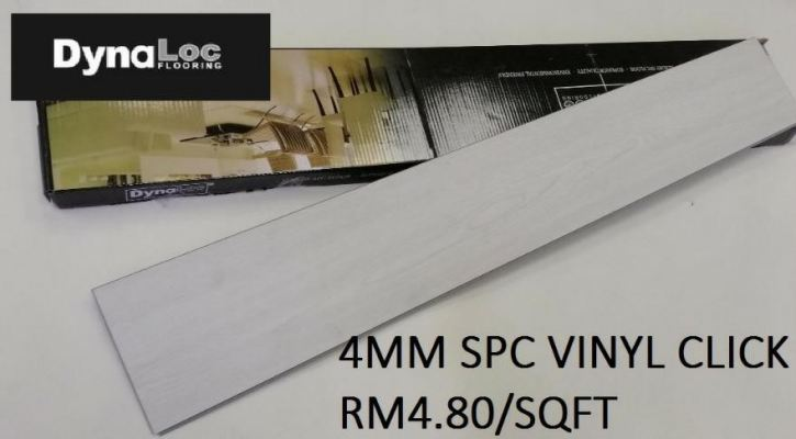 SPC Vinyl Click 4mm - White Woodgrain ( SPC4-6004 )
