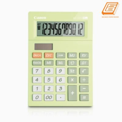 Canon - Calculator As-120V - (5476B004AA - Lime Green)