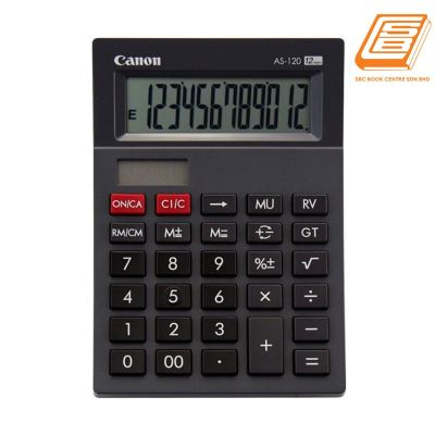 Canon - Calculator As-120 - (452B002AA - Black)