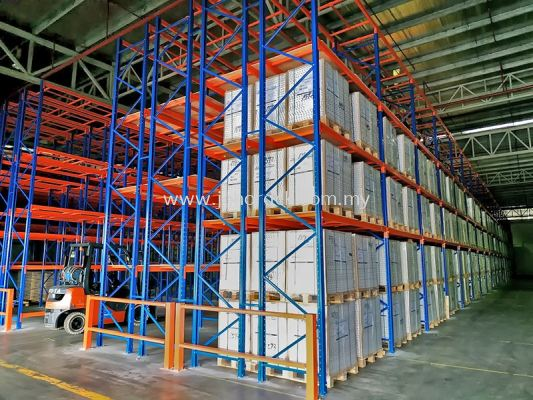 Double-Deep Racking System