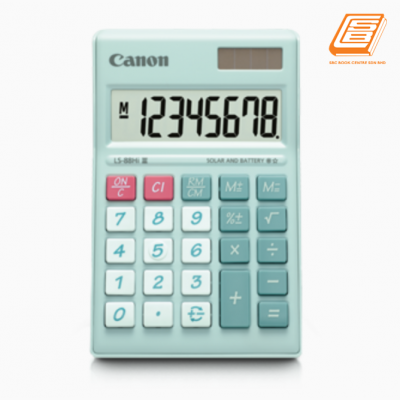 Canon - Calculator LS-88Hi III - (4425B003AA - Pastel Green)