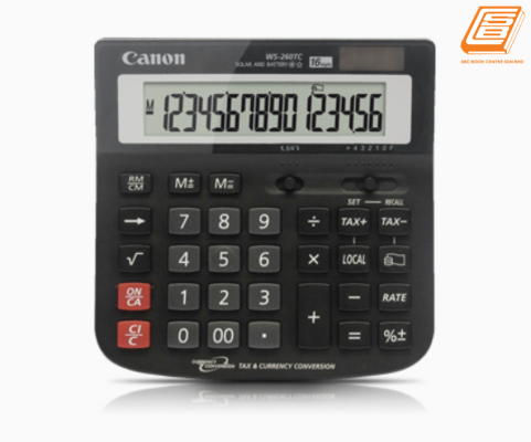 Canon - Calculator WS- 260TC - (1584B001AB - Black)
