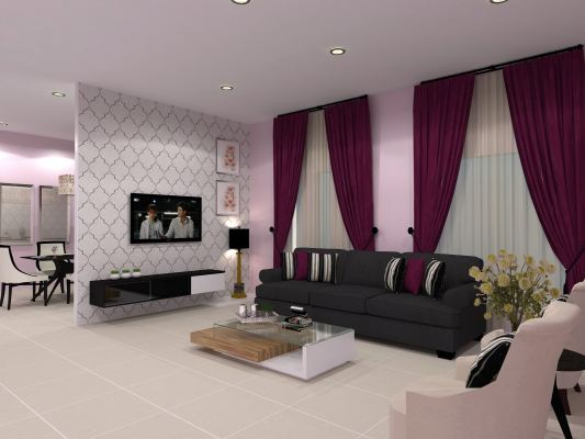 Interior Design For Living Area