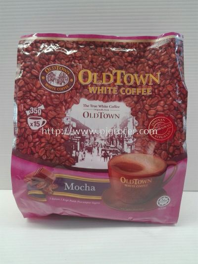 Old Town White Coffee Mocha 35gm x15's