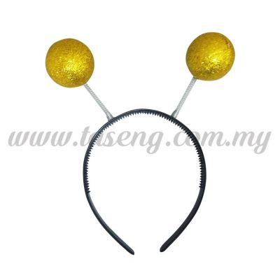 Hairband 16 STRING *GOLD ROUND (DU-HB16-RD)