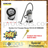 KARCHER WET AND DRY VACUUM CLEANER NT38/1 Me -HEAVY DUTY FOC STANLEY TEST PEN! VACUUM Karcher Vacuum Cleaners