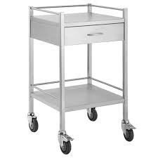SS03  Instrument Trolley  1 Drawer