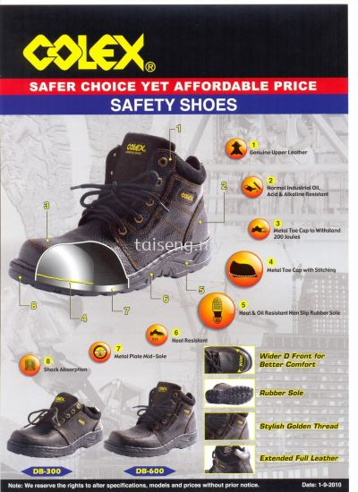 Colex Safety Shoes DB600