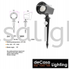 OUTDOOR LED SPIKE LIGHT LW-19207-DG-20W Outdoor Spike OUTDOOR LIGHT
