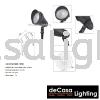 OUTDOOR LED SPIKE LIGHT LW-3743-SBK-15W Outdoor Spike OUTDOOR LIGHT