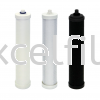 Small Filter Cartridge  Carbon / CTO Replacement Filter Replacement Filters