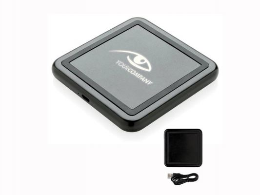 Trendy Flash-up Logo Qi Wireless Charger
