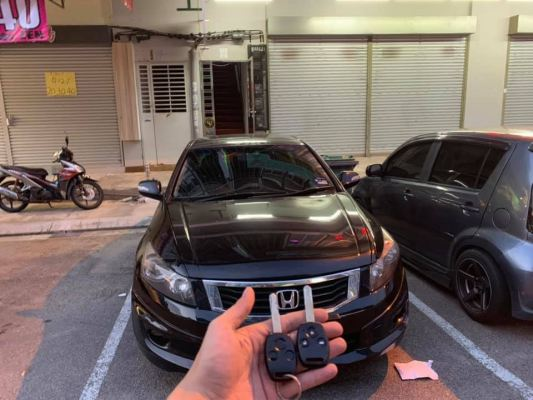 Honda Accord Add Remote Key