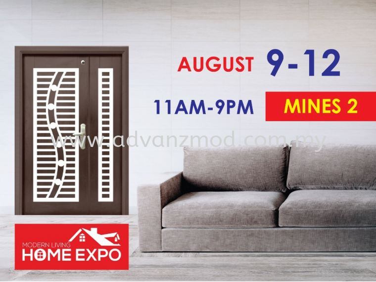 9th - 12th August 2019 Exhibition At Mines 2 (Modern Living Home Expo)