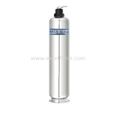 4ft/5ft Stainless Steel Outdoor Filter Tank with Manual Head
