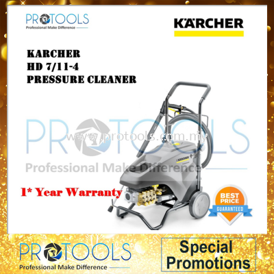 KARCHER HD7/11-4 HIGH PRESSURE WASHER -1 YEAR WARRANTY