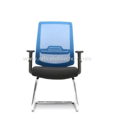 WIMBERLY 1 VISITOR ERGONOMIC MESH CHAIR C/W CHROME CANTILEVER BASE