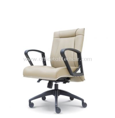 HARPERS EXECUTIVE LOW BACK CHAIR C/W ROCKET NYLON BASE