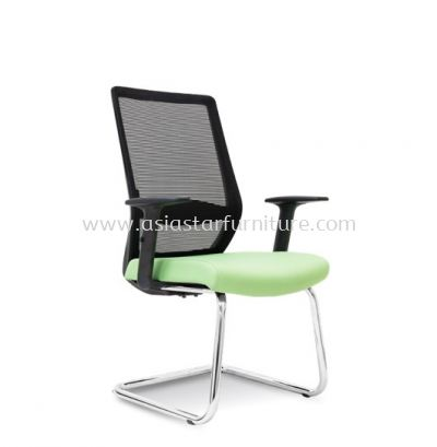 ELXO VISITOR MESH BACK CHAIR C/W CHROME CANTILEVER BASE