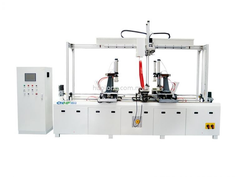 HF(RF) FOUR AXIS WOODEN FRAME JOINING MACHINE High Frequency Machine