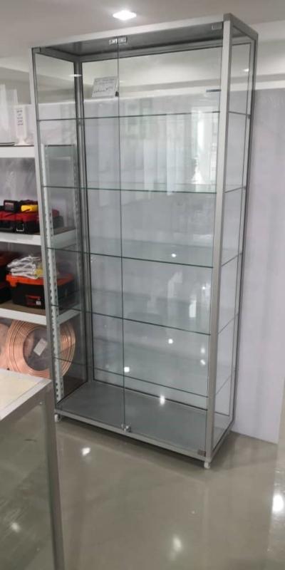 Display Cabinet Aluminium, Glass Display Cabinet Malaysia
